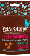 Vet's Kitchen Little hearts finest salmon and trout treats